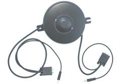 Vga Video Plus Audio Retractable Extension Extender Vga