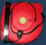 Retractable 3.5mm Stereo Audio Cable Reel - 100' foot - Audio Reels - Audio Reels by Lightcast