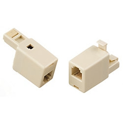 Rj45 Ethernet To Rj11 Telephone Adapter Converter R No Cords