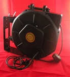 Retractable DMX Cable Reel - 50' foot - Lighting Reels - by Lightcast